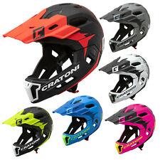 Cratoni C-Maniac 2.0 MX Fullface Downhill BMX Helm Fahrradhelm 520g Kinnbügel