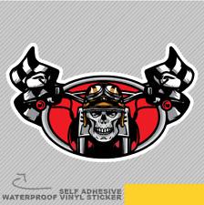 Ghost Rider Skull Road Adventure Vinyl Sticker Decal Window Car Van Bike 2095