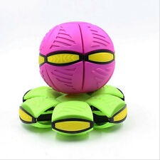 Novelty Magic Frisbee Ball Flying UFO Discs New Play Game Outdoor Toy Healthy