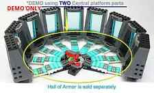 Custom v.2 Central Platform IRON MAN laboratory ( Can combine w Hall of Armor )