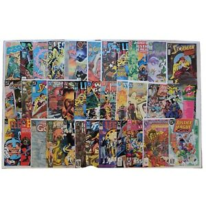 Lot Of 36 DC/Misc Vintage Comic Books From 80s/90s/00s