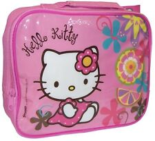 Hello Kitty Pink Official Character Lunch Bag Fully Insulated With Handle New