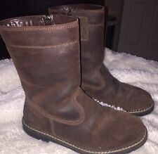 TECNICA MONTANA III SUEDE WOOL LINED Country Boot Size US 8.5-Pre-owned