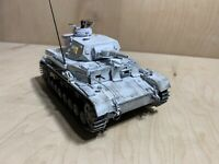 German Panzer Nazi Tank Snow Plastic Model Kit 1/35 Built