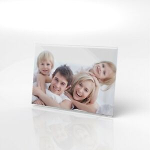 Acrylic Photo Frame / Clear Picture Frame / Image Holder / Photo Display Stand