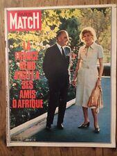 Paris Match du 13 Fev 1971 / Pdt en visite en Afrique / Marie Laforet / Frazier
