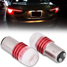 2*DC 12V  White 1157 2357 Strobe LED Flash Bulb For Car Tail Brake Light LJ4