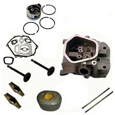 Cylinder Head Kit Fits Honda GX390 Air Filter Gasket Kit Rockers Piston & Rings