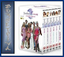 FOOTBALLER'S WIVES- COMPLETE SERIES 1- 5 PLUS EXTRA TIME SERIES 1 & 2 *BRAND NEW