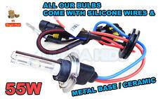 H7 4300K 43K 50W 55w HID XENON REPLACEMENT BULBS UK metal base white conversion