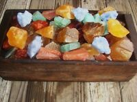 3000 Carat Lots of Unsearched Natural Mixed Calcite Rough + a FREE Faceted Gem