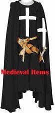 Medieval Knights Templar Costume Reenactment Cotton Clothes Renaissance Crusader
