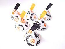 Halloween Bats, Pumpkins & Skulls Pee Pee TeePees x 6 // Boy Baby Shower Gift //