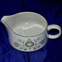 Franciscan Heritage Creamer Green and Cream Color