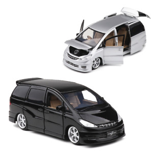 Toyota Previa MPV 1:32 Scale Diecast Model Car Toy Collection Light & Sound Gift
