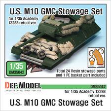 DEF. Model, DM35042, U.S. M10 GMC arrimage set, 1:35