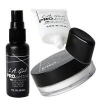 L.A. Girl Pro Face Primer, Setting Powder & Setting Spray Set - Universal Shade!