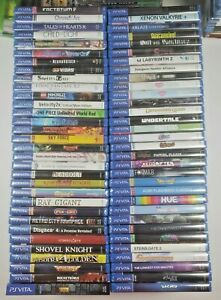 PS Vita Games Pick and Choose - All Brand New!!