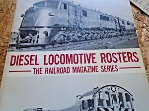 Diesel Locomotive Rosters