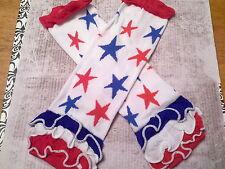 baby girl leg warmers baby legs 4th of july patriotic ruffle leg warmers stars