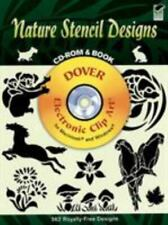 Dover Electronic Clip Art Ser.: Nature Stencil Designs by Dover Publications...