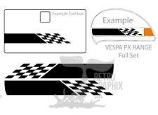 Skinhead Sticker Fits Vespa PX Toolbox Door Ska Decals SH01