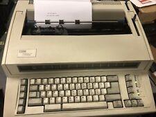 Ibm Wheelwriter 1000 By Lexmark Electronic Typewriter Tested Amp Working Extra