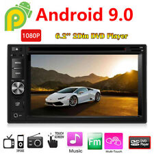 Android 9.0 Touch Screen Stereo Car DVD CD Player 2 Din System HD Radio 6.2inch