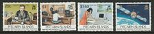 Pitcairn Islands 1995 First Radio Transmission set SG 479-482 Mnh.