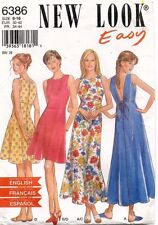 New Look Misses' Dress Pattern 6386 Size 6-16 UNCUT