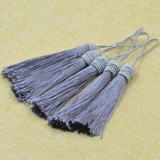 Pendant Bag Key Chain Decoration Silk Craft Home Decor Curtain Tassel 2pcs DIY