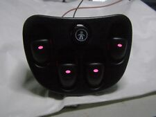 VT/VX/WH  Holden Commodore Black Master Window Switch With Red LED'S