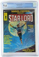 Marvel Preview #4 1/76 CGC 9.6 1st App and Origin Star-Lord & Sword in the Star