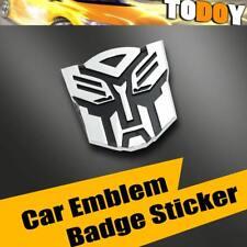 Autobot 3D Metal Logo Sticker Badge Car Auto Truck Emblems Decal