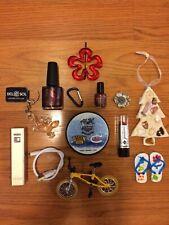 New listing small Junk Drawer Lot Hockey Puck power bank Bike Toy nail polish