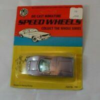 Vintage IMCO Speed Wheels Purple GT Racing Car Die Cast 1/64 Scale Hobby Toy
