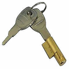 KEY HEAVY DUTY CARAVAN & TRAILER COUPLING TOWING SECURITY HITCH LOCK & 2 KEYS