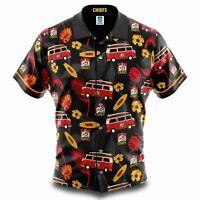 Waikato Chiefs Super Rugby 2020 Hawaiian Shirt Button Up Polo Shirt Sizes S-5XL!