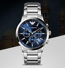 Emporio Armani AR2448 Men's Chronograph Watch original box