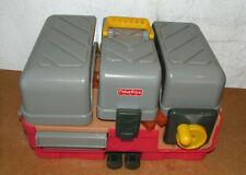 Vtg Fischer Price Power Workshop Toy Tool Box