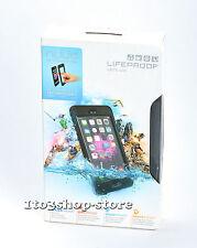 LifeProof nuud iPhone 6 Plus Waterproof Water Dust Proof Hard Case Black USED