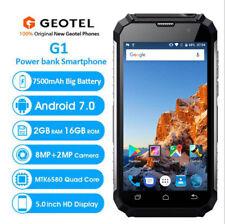"Unlocked Geotel G1 3G Rugged Smartphone 5"" Andriod 7.0 Quad Core 2GB+16GB Black"