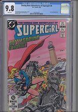 Supergirl ( Daring New Adventures of) #6 CGC 9.8 DC 1983 NEW FRAME  Comic