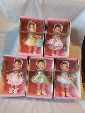 "75TH ANNIVERSARY ""DIONNE QUINTUPLETS"" MADAME ALEXANDER - NRFB SET OF 5 1998"