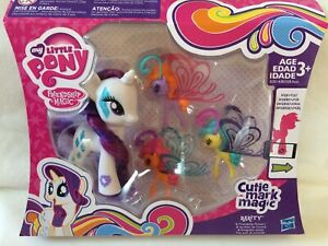 BNIB My Little Pony Cutie Mark Magic Rarity and Friendship Flutters
