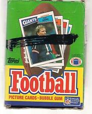 1987 TOPPS FOOTBALL BOX ELWAY RICE MARINO