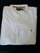 New Men's Polo Ralph Lauren SS Classic Fit Button Down Shirt Size XXXL 3XLT Tall