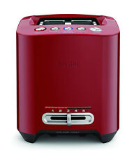 NEW Breville Smart 2 Slice Toaster Cranberry 2Y Warranty BTA825CRN FAST SHIPPING