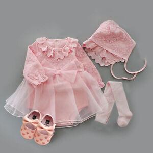 1 set baby girls clothes princess dress birthday wedding party outfits TUTU