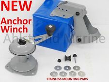 NEW Attwood Anchor Lift System w/ Stainless Pads Winch Mate Row Jon Boat 13710